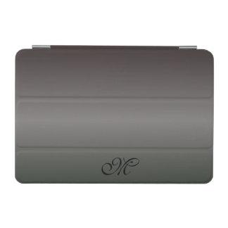 Sombras del monograma negro cover de iPad mini