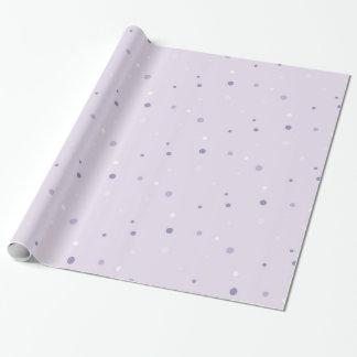 sombras del papel de embalaje púrpura de los