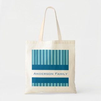 Sombras frescas de w/Personalization azul Bolso De Tela
