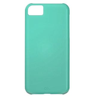 Sombras llanas del verde: Añada el texto o la imag Funda Para iPhone 5C