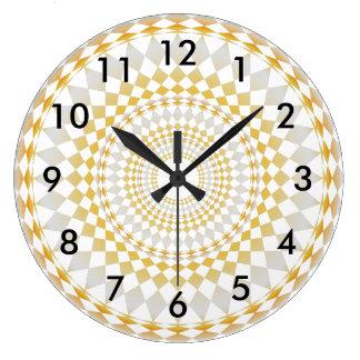 Sombras modificadas para requisitos particulares reloj redondo grande