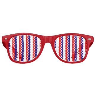 Sombras patrióticas del fiesta del caminante de la gafas de fiesta