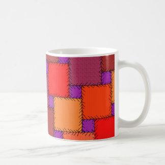 Sombras púrpuras elegantes lamentables del taza de café