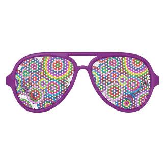 sombras retras del fiesta gafas de fiesta de aviador