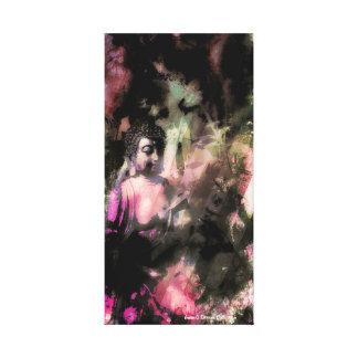 Sombras y impresión (rosada) ligera de la lona de