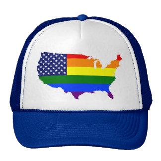 Sombrero adaptable del camionero de América del Gorras