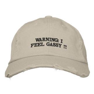Sombrero apenado gorra bordada