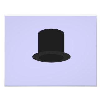 sombrero de copa arte con fotos