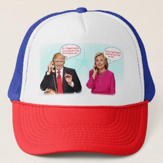 Sombrero de la conversación telefónica de Donald y