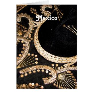 Sombrero mexicano felicitación