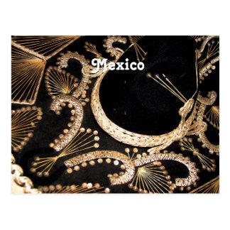 Sombrero mexicano postal