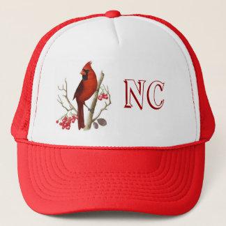Sombrero rojo del pájaro del estado del NC