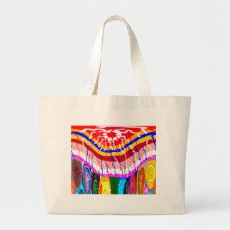 Sombrilla decorativa del toldo del toldo de la bolsa tela grande