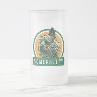 """Somerset """"EL Chico"""" 16oz. Stein helado Taza Cristal Mate"""