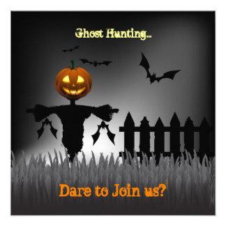 ¡Somos caza del fantasma de Halloween que va! ¿Ust Invitacion Personal