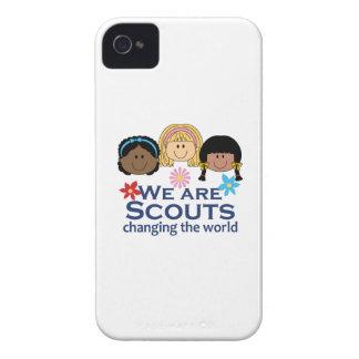 Somos exploradores que cambian el mundo iPhone 4 cárcasas