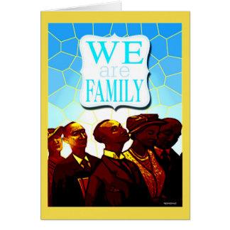 Somos familia tarjeta
