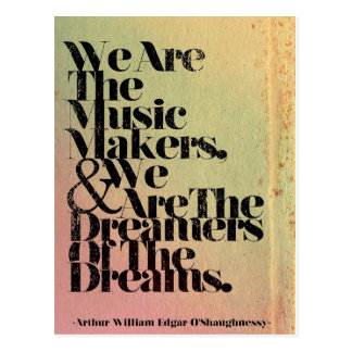 Somos la postal de los fabricantes de la música