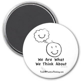 """Somos lo que pensamos cerca de 3"""" imán"""