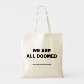 """""""Somos todos"""" bolso condenado Bolsa"""