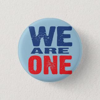 Somos un botón chapa redonda de 2,5 cm