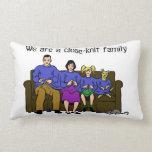 Somos una almohada de la familia unida