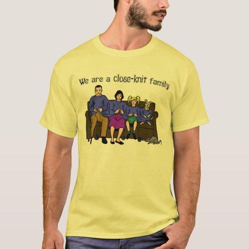 Somos una camiseta de la familia unida