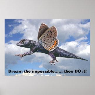¡Soñe el imposible ...... entonces lo hacen! Póster