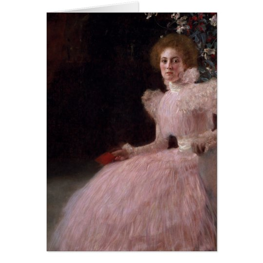 Sonja Knips, 1898 Tarjeta De Felicitación