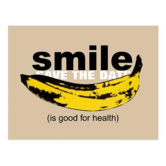 Sonrisa - ahorre la trigésima postal del