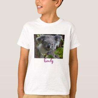 sonrisa de la koala camiseta