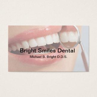 Sonrisa de la oficina dental Niza Tarjeta De Visita