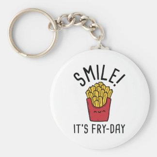 ¡Sonrisa! Es Fritada-Día Llavero