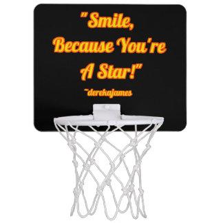 ¡Sonrisa, porque usted es una estrella!  Aro de
