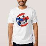 Sonrisa puertorriqueña camisetas