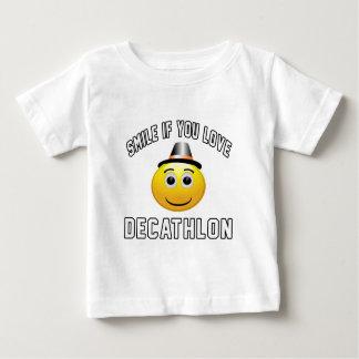 Sonrisa si usted ama Decathlon. Camiseta
