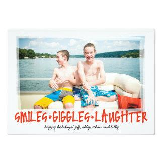 Sonrisas * risitas * risa con la foto trasera anuncios personalizados