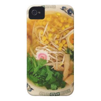 Sopa de fideos de los Ramen del cerdo Funda Para iPhone 4 De Case-Mate