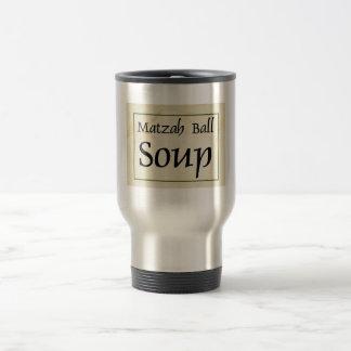 Sopa de la bola del Matzah Taza De Viaje