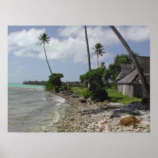 Soplo de la isla póster