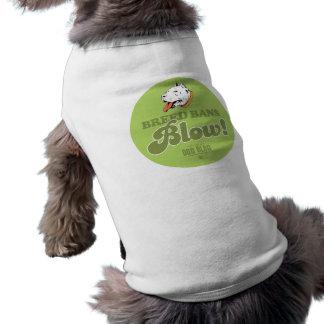Soplo de las prohibiciones de la raza ropa de perros