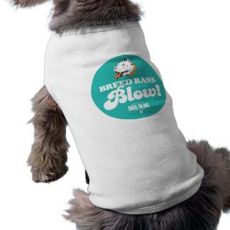 Soplo de las prohibiciones de la raza ropa perro