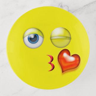 Soplo del corazón del amor un beso Emoji