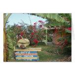Soporte del pollo del tirón en Negril, Jamaica 201 Tarjeta De Felicitación