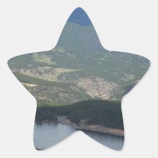 Soporte Evans, Colorado Pegatina En Forma De Estrella