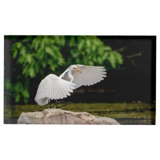 Soporte Para Tarjetas De Mesa Gran Egret