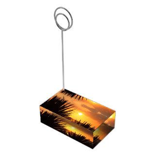 Soporte Para Tarjetas De Mesa Puesta del sol