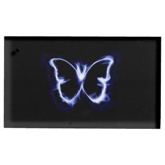 Soporte Para Tarjetas De Mesa Silueta de la mariposa