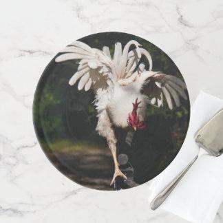 Soporte Para Tartas Alas del aleteo del gallo