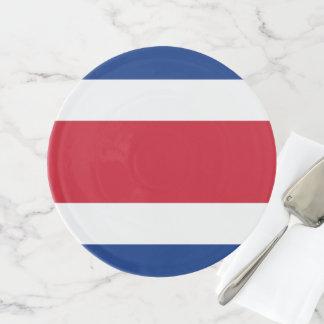 Soporte Para Tartas Bandera de Costa Rica